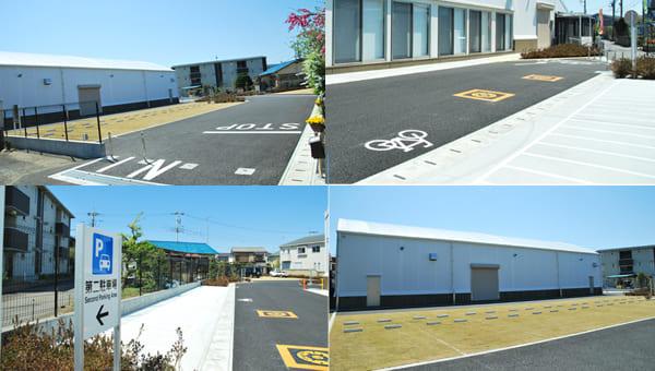 満足の駐車・駐輪スペース